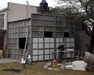 paredes aisladas con tergopol