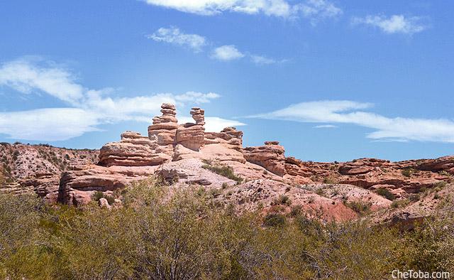 Formaciones piedras Cañon Atuel
