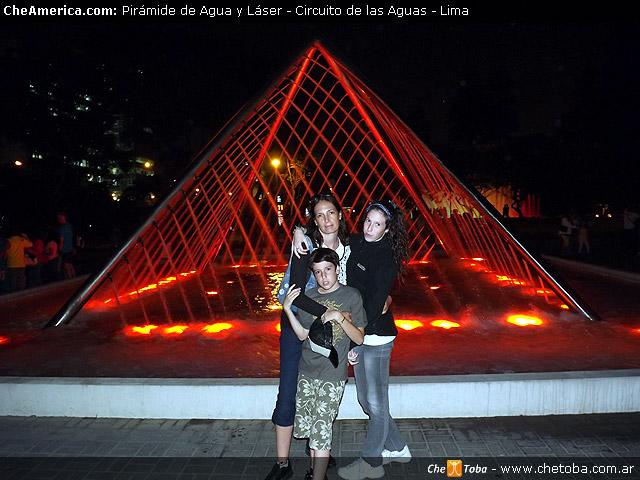 Pirámide de Luz y Agua - Circuito de las Aguas - Lima