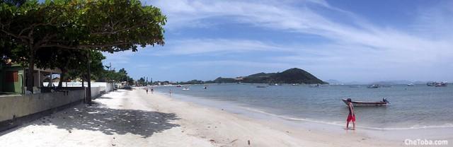 Playa de Aramação de Celso Ramos