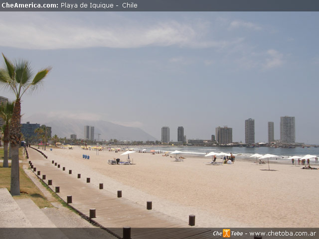 Playa de Cavancha - Iquique - Chile