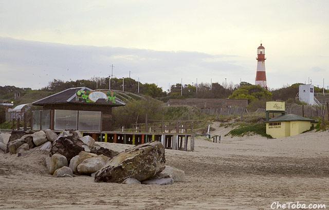 Playa del Faro de Mar del Plata