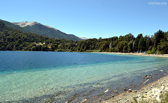 Playa del Lago Correntoso