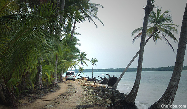 Playa Larga Bocas del Toro