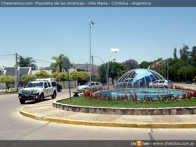 Plaza de las Américas de Villa María