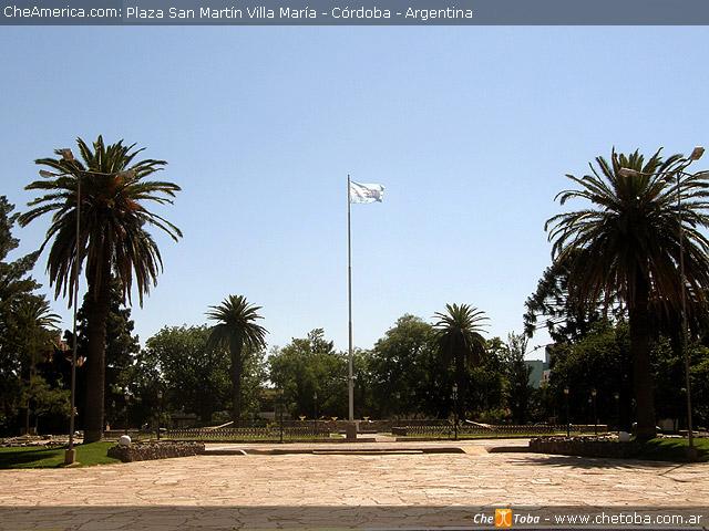 Plaza San Martín Villa María, Córdoba