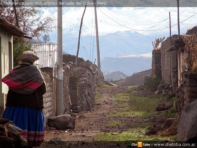 Pobladores del Valle del Colca