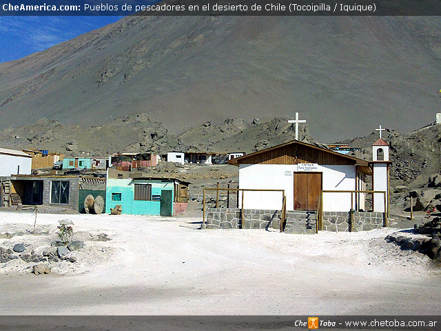 Pueblos pesqueros Costa de Chile