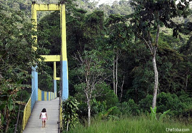 Puentes Colgantes Río Pastaza