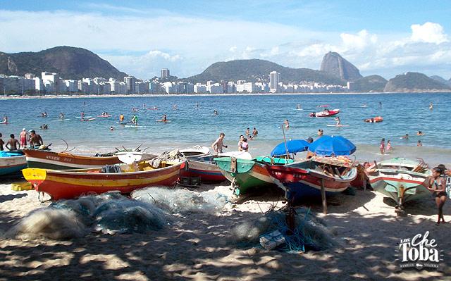 Copacabana Beach Río de Janeiro