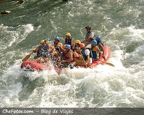 Rafting en el Atuel, Mendoza, Argentina 4