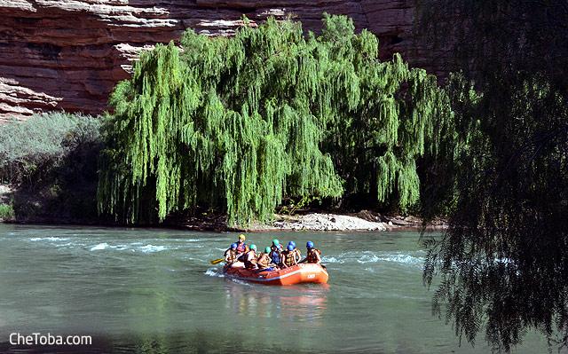 Rafting Río Atuel Mendoza