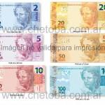Cambian los billetes de la moneda REAL en Brasil 1