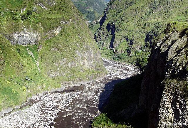Cañón del Río Pastaza Baños