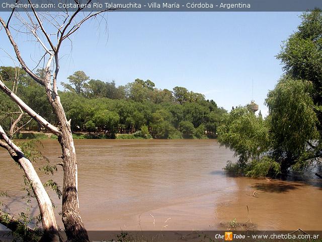 Río Talamuchita en Villa María