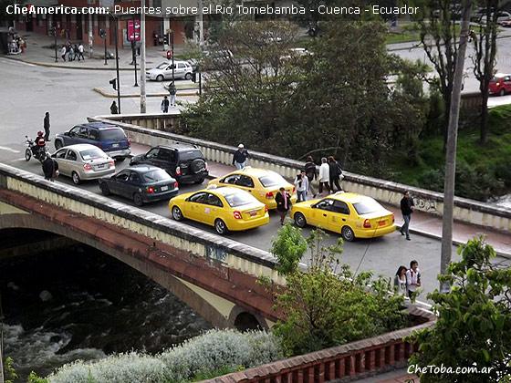 Puente Río Tomebamba Cuenca Ecuador