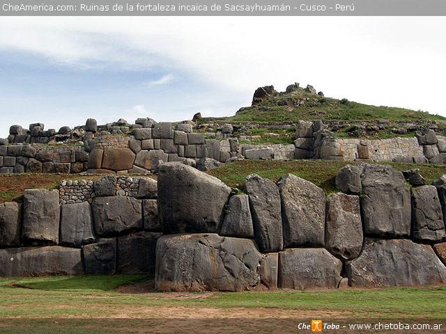 Muros de la fortaleza Sacsayhuam - Cusco