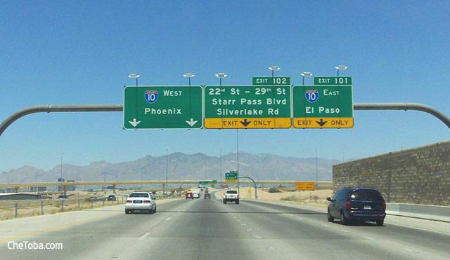 Ruta 10 EEUU Arizona