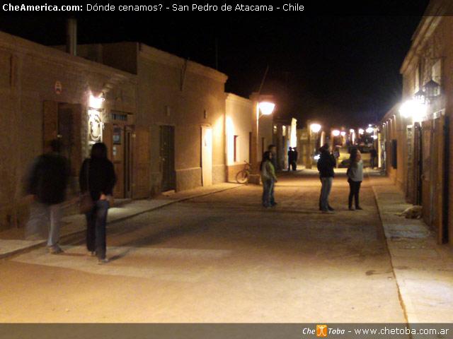 San Pedro de Atacama de Noche