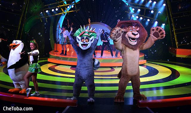 Show Madagascar Busch Gardens