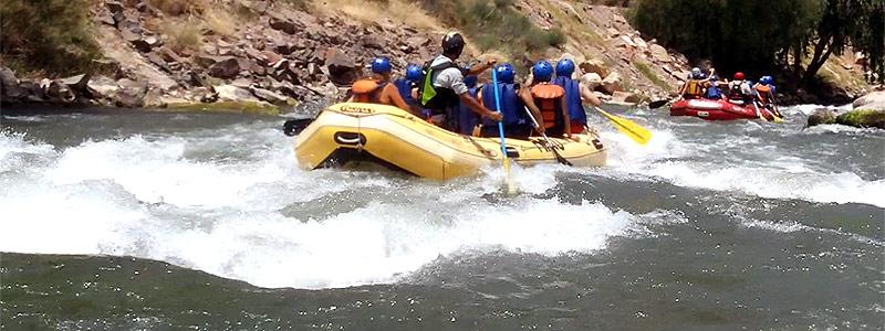 Todo sobre rafting en familia - San Rafael - Mendoza 23