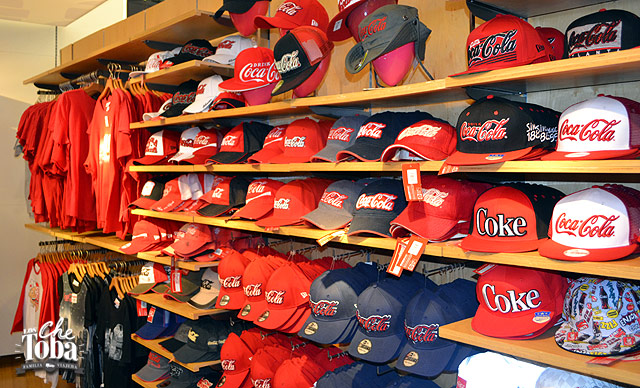 Tienda de Souvenir Coca Cola