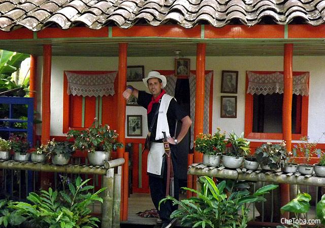 Casa típica pueblo Paisa