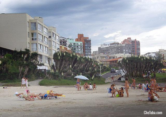 Fotos playa centro de Torres Brasil