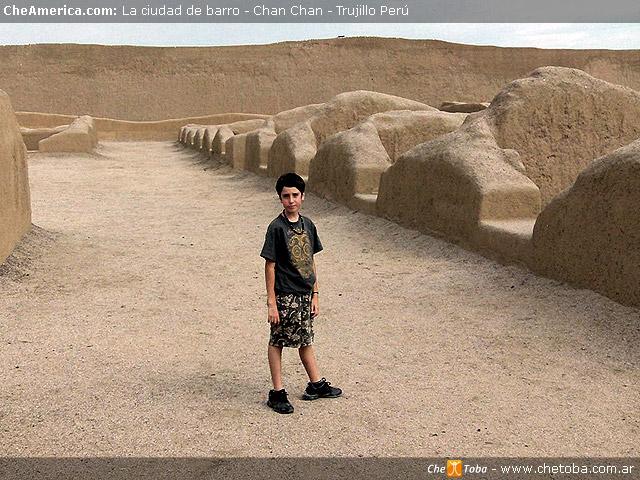 ToTo en Ruinas Chan Chan
