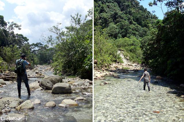 Trekking Río Puyo - Ecuador