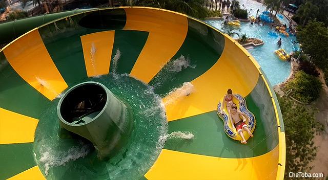 Twister Aquatica Seaworld