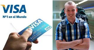 Habilitar la Tarjeta Visa para viajar al exterior