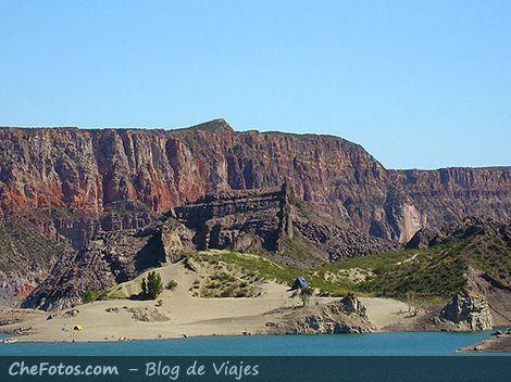 Panorámica de Valle Grande, Mendoza